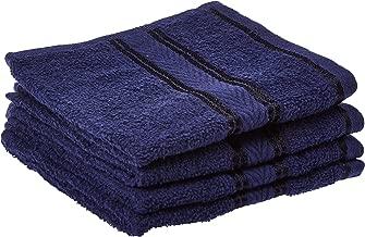 Panache Exports Mystical Face Towel, Blue, 30 cm x 30 cm, PEMYSFAC01, Pack of 4