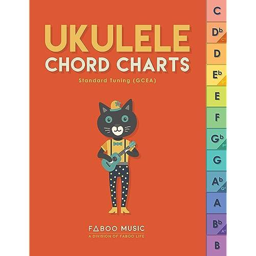 Ukulele Chord Chart: Amazon com