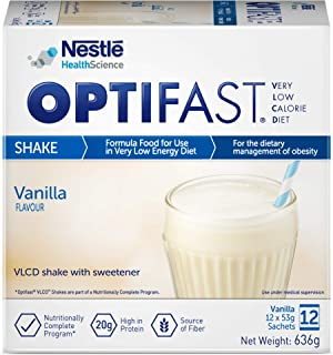 Optifast Very Low Calorie Diet Shake Vanilla Flavor, 636g