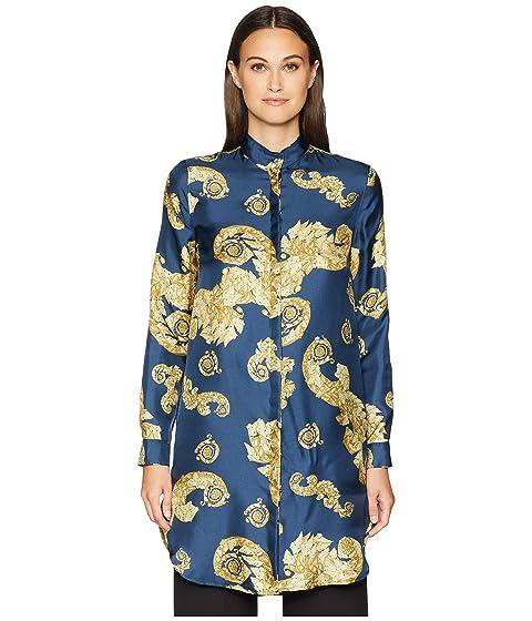 Versace Collection Shirts - Stampa Shirtdress