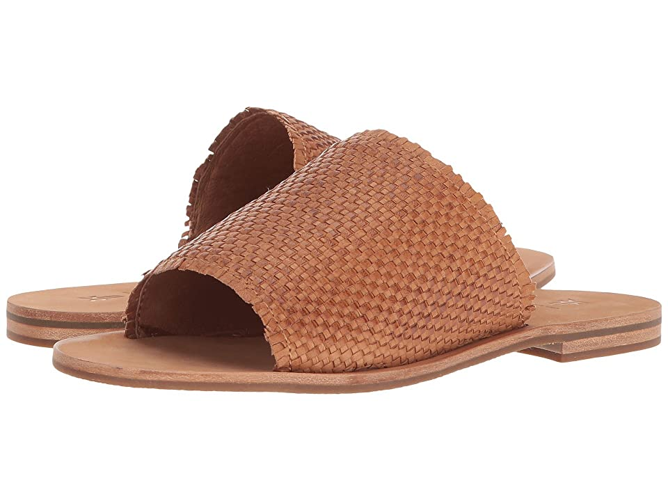 Frye Riley Woven Slide (Tan) Women