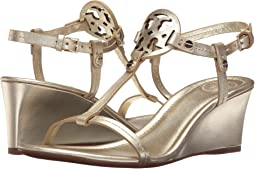 615d30741737 Tory Burch. Miller 60mm Wedge Sandal.  160.80MSRP   268.00. 4Rated 4 stars.  Spark Gold