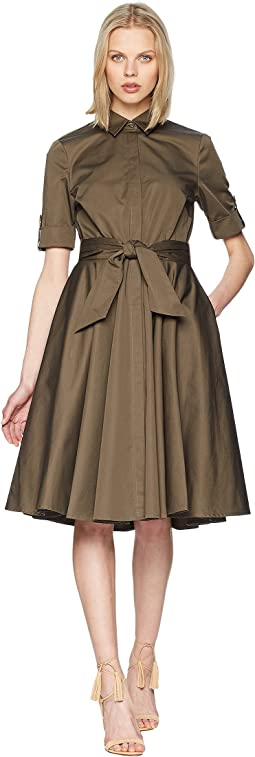Badgley Mischka - Day to Evening Shirtdress w/ Circle Skirt