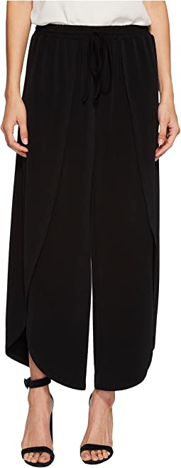 Wide Leg Envelope Hem Pants