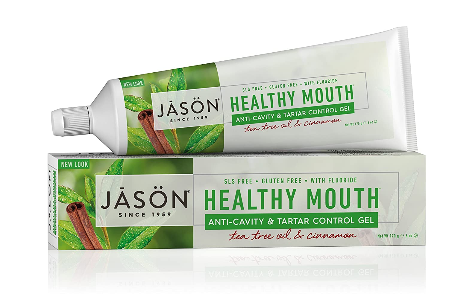 JASON Max 83% OFF Healthy OFFer Mouth Anti-Cavity Control Tee Toothpaste Tartar