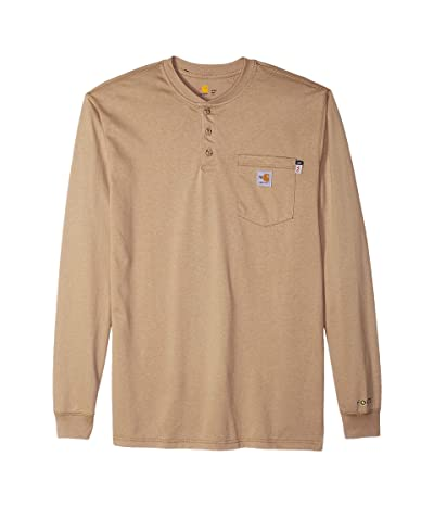Carhartt Flame-Resistant Force Cotton Long Sleeve Henley