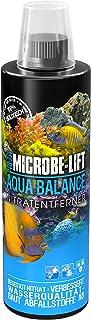 MICROBE-LIFT Aqua Balance – rengör akvariet, minskar antalet vattenbyten, tar bort nitrat, söt- och havsvatten, 473 ml