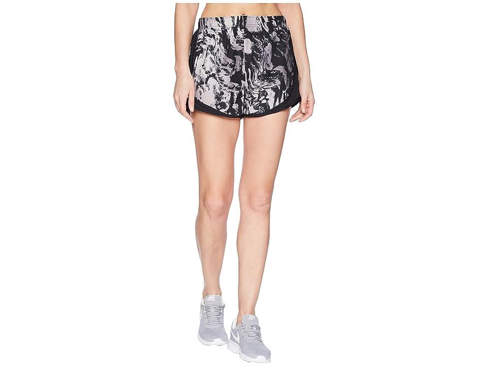 Nike Dry Tempo Print Shorts (Black/Black/Black/Wolf Grey) Women