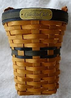 Longaberger 2001 Collectors Club Renewal Basket