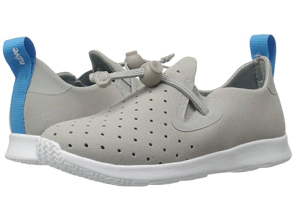 Native Kids Shoes Apollo Moc (Toddler/Little Kid) (Pigeon Grey/Shell White) Kid