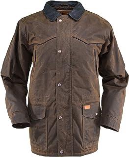 Outback Trading Co Men`s Co. Oilskin Rancher Jacket - 2707Bronze