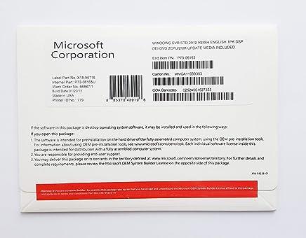 Microsoft Windows Server Standard 2012 R2 x64 - Confronta prezzi