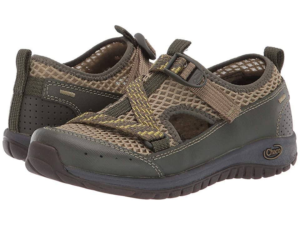 Chaco Kids Odyssey (Toddler/Little Kid/Big Kid) (Olive) Kids Shoes