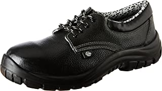 Tigre Polyurethane Safety Shoes 8256015 Low Cut - Size 7, Black