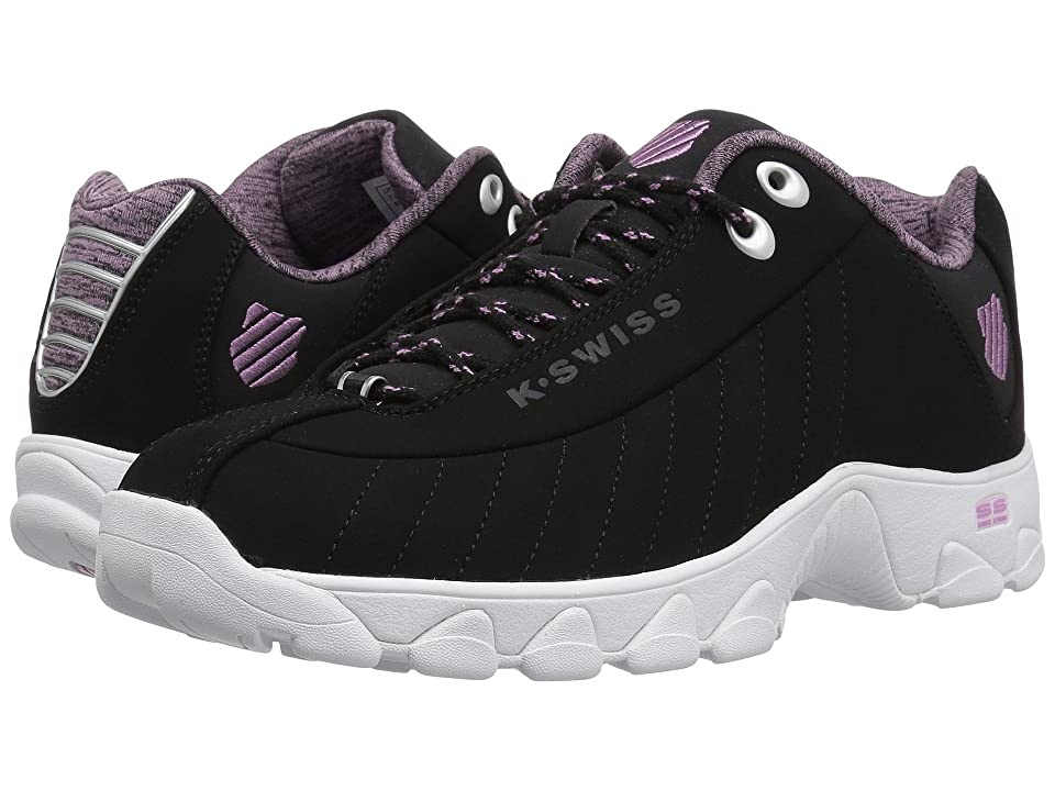 K-Swiss ST329 CMF (Black/Smoky Grape/White) Women