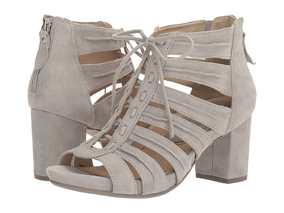 Earth Saletto Earthies (Pale Grey Suede) Women