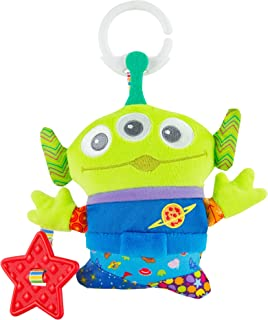 Lamaze Disney/Pixar Toy Story Clip & Go – Alien Baby Toy, Multi, L27282