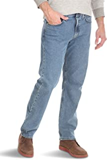 Authentics Men's Comfort Flex Waist Relaxed Fit Jean