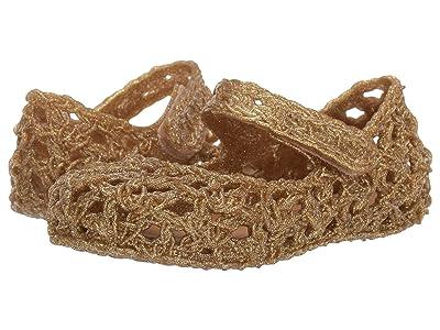 Mini Melissa Mini Melissa Campa 02 (Toddler/Little Kid) (Gold Glitter) Girls Shoes