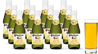 Martinelli's Gold Medal Sparkling Apple-Pear Juice, 8.4 fl oz. Pack of 12 Bottles | Non-Alcoholic Drink
