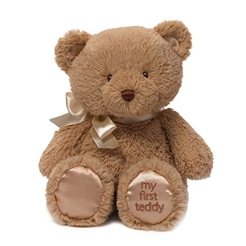 Baby GUND My 1st Teddy Bear Stuffed Animal Plush, Tan 10""