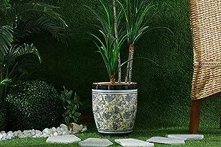 Pan Emirates Yatai Ceramic Planter Brown 34x34x42cm