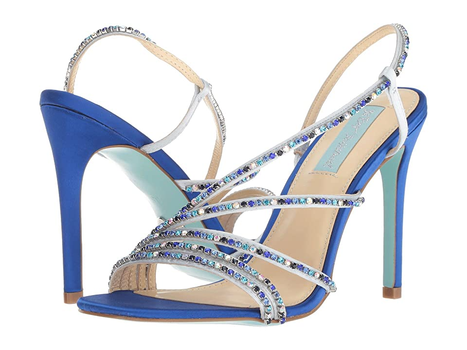 Blue by Betsey Johnson Aces (Blue Satin) High Heels