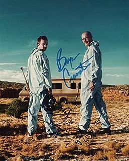 Breaking Bad cast 8x10 reprint signed photo #3 RP Cranston Paul