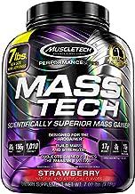 Mass Gainer Whey Protein Powder + Creatine   MuscleTech Mass-Tech Elite   Muscle Builder Whey Protein Powder   Max-Protein...