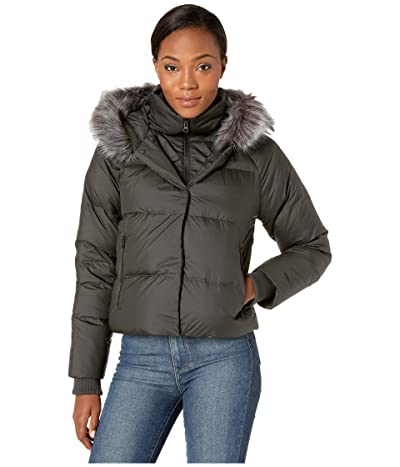 The North Face Deallo Down Crop Jacket (Asphalt Grey) Women