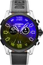Diesel On Men's Gen 4 Full Guard 2.5 HR Heart Rate Nylon Touchscreen Smart Watch, Color: Multicolor (Model: DZT2012)