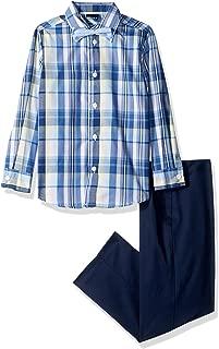 Boys' 3-Piece Dresswear Set with Dress Shirt, Pants, and Bow Tie