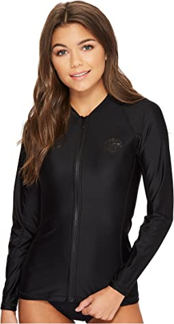 Belle Zip-Through Long Sleeve UV Tee