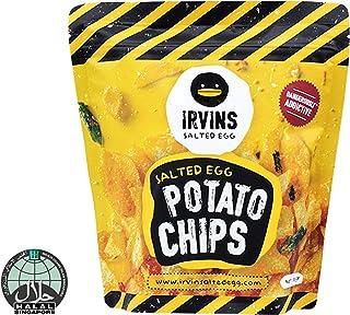 IRVINS Salted Egg Potato Chips Crisps 105g