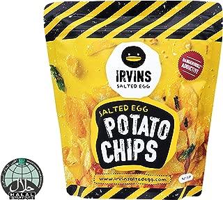 IRVINS Salted Egg Potato Chips, 105g