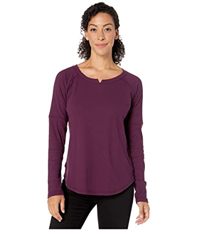 Columbia Fall Pinetm Washed Crew (Black Cherry) Women