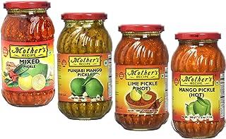 Mother's Recipe - Pickle Combo 4in1 (Mixed, Punjabi Mango, Lime Hot, Mango Hot) 500g x 4