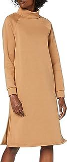 Only Onllola L/S Highneck Dress Swt Vestito Donna