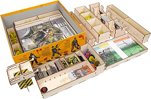 Broken Token Box Organizer for Zombicide Season 3