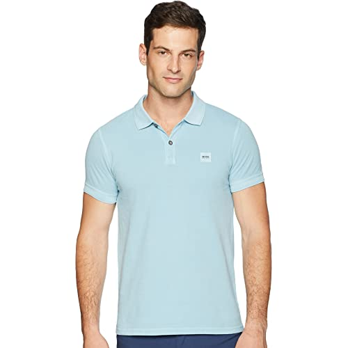 7918a02c6d8 Hugo Boss Men s Prime Slim Fit Short Sleeve Polo T-Shirt