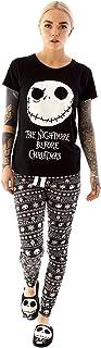 Nightmare Before Christmas Pyjamas Womens Skellington PJ...