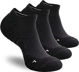 Hylaea Athletic Running Socks Cushion Padded Moisture Wicking Low Cut
