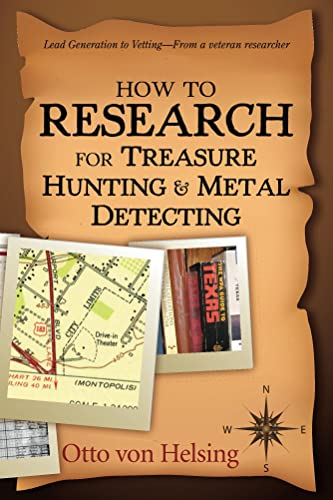 Books By Otto Von Helsing_how To Research For Treasure Hunting And ...