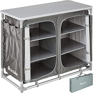 TecTake 800585 Cuisine de Camping Meuble de Jardin - Divers modèles -