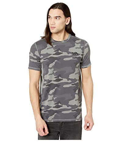 RVCA VA Sport Vent Short Sleeve Top (Camo) Men