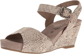 mas preferencial Mephisto Wedge Sandal With Velcro Velcro Velcro Ankle Strap  alta calidad general