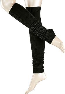 ESPRIT Damen Leg Warmers Rib - Schurwollmischung, 1 Paar, Versch. Farben, Einheitsgröße - Wärmende Strickstulpe , Leg- /Armwarmer
