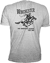 Winchester Official Men's Vintage Rider Graphic Printed Short Sleeve T-Shirt