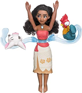 DISNEY - Moana - Spin and Swim Figure - With Doll 2 Friends Figures- Collectible Fashion Dolls - Toys for Kids - Boys and ...