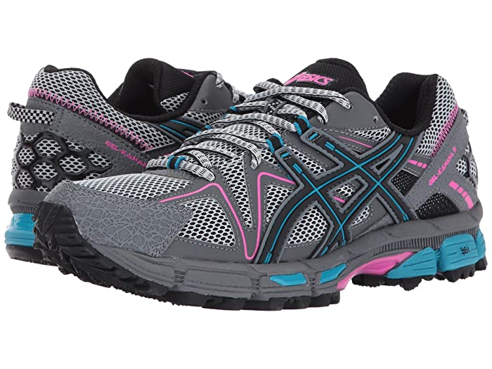 ASICS Gel-Kahana(r) 8 (Black/Island Blue/Pink Glow) Women's Running Shoes